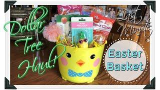 Dollar Tree Haul / Last Minute Easter Basket Ideas / April 18, 2019