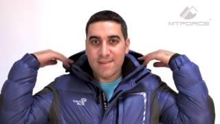 Куртка пуховик спортивный мужской синего, горчичного, красного цвета 9573