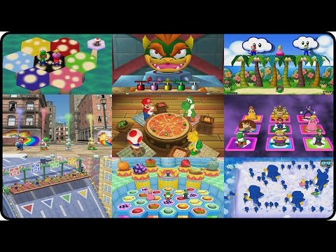 Mario Party - All Mini-Games (Mario Party 1-10!)