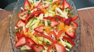 Jicama Salad #rawvanafit