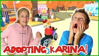 I Adopted Karina!