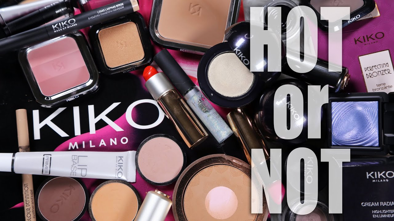 KIKO MILANO COSMETICS | Hot or Not - YouTube