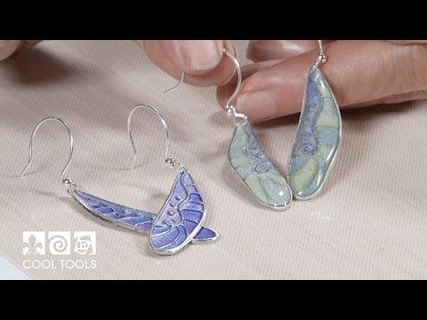 Cool Tools: Dragonfly Earrings Two Ways by Lisel Crowley