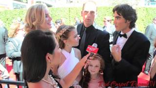 Cast of Dog with a Blog at the 66th Creative Arts Emmy® Awards Red Carpet #EmmysArts