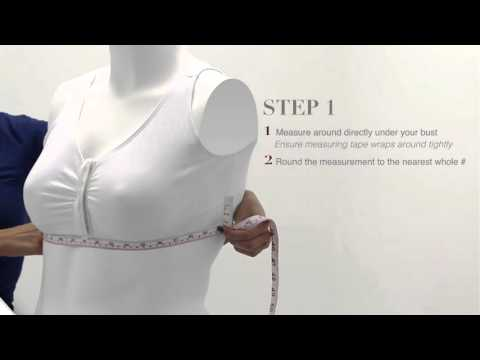 Silvert's Bra Size Measurement - How To Accurately Measure Your Bra Size