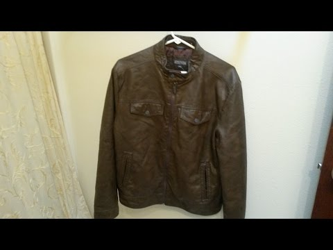 Kenneth Cole Men's Marble Faux Moto Jacket Review