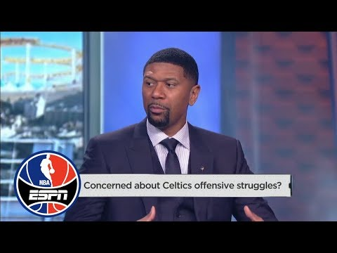 What's wrong with the Celtics offense … and Michelle Beadle's car? | NBA Countdown | ESPN