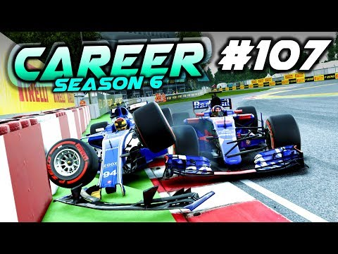 CHAOTIC RACE AT CANADA - F1 2017 Career Mode Part 107