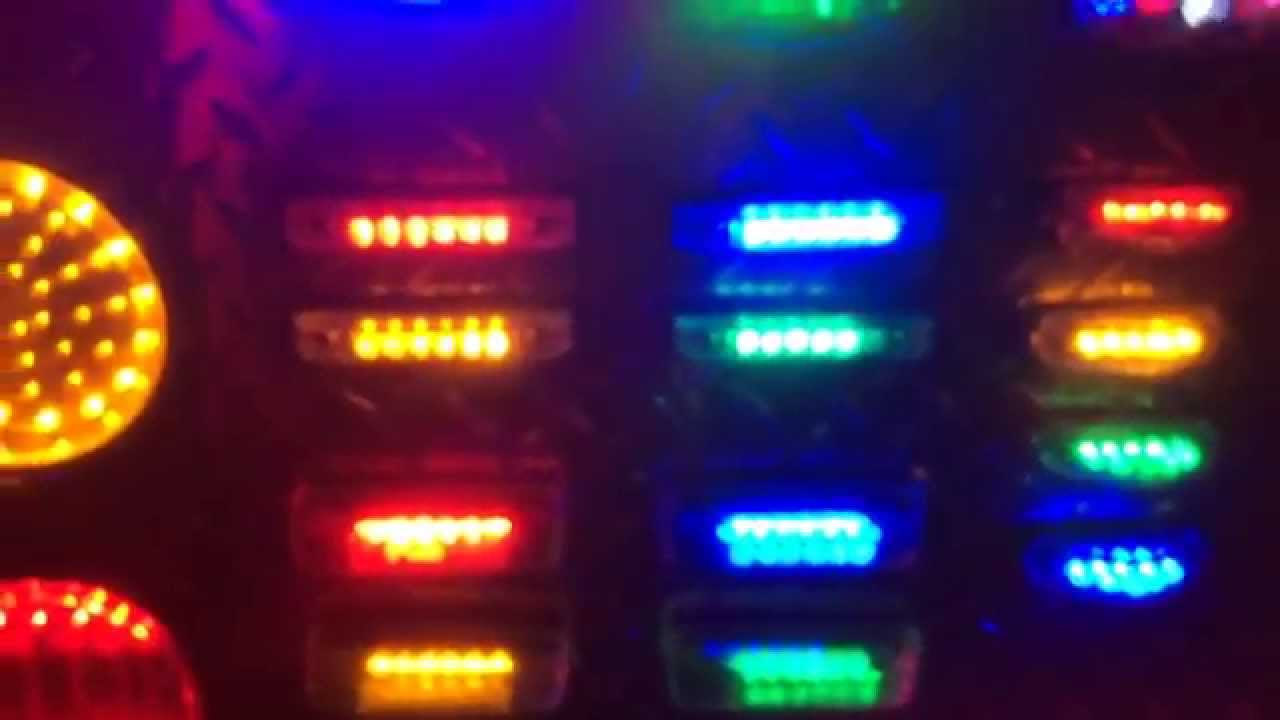 Luces sumergibles led de 6 pulgadas