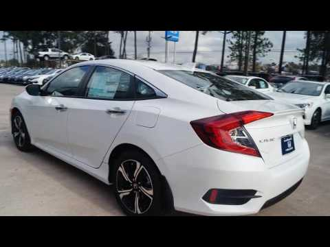 2017 honda civic touring in kingwood tx 77339 youtube. Black Bedroom Furniture Sets. Home Design Ideas