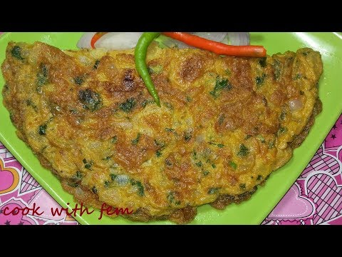 Egg Omelette || Simple and Basic Indian Style Egg Omelette Recipe For Beginners and Bachelors