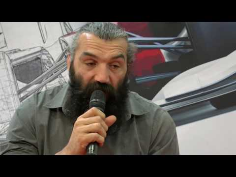 Sébastien Chabal's interview / Industrie Lyon Tradeshow 2017 #ChabalTopSolid