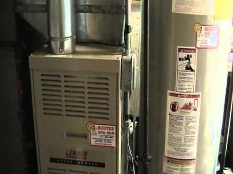 lennox gas furnace starting up and running in heat mode youtube rh youtube com Amana Gas Furnace Amana Gas Furnace