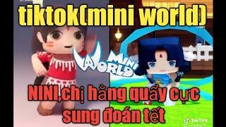 Tiktok(mini world)quẩy lên nào ae 😁😁😁