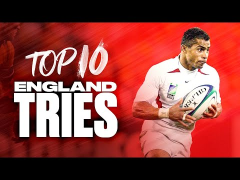🌹 Top 10 England Tries at Rugby World Cup 🌹