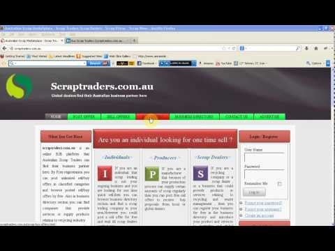 Scrap trading Market place and Recycling Business Directory