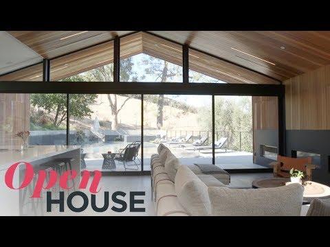 Saddle Peak Glass House in the Santa Monica Mountains | Open House TV