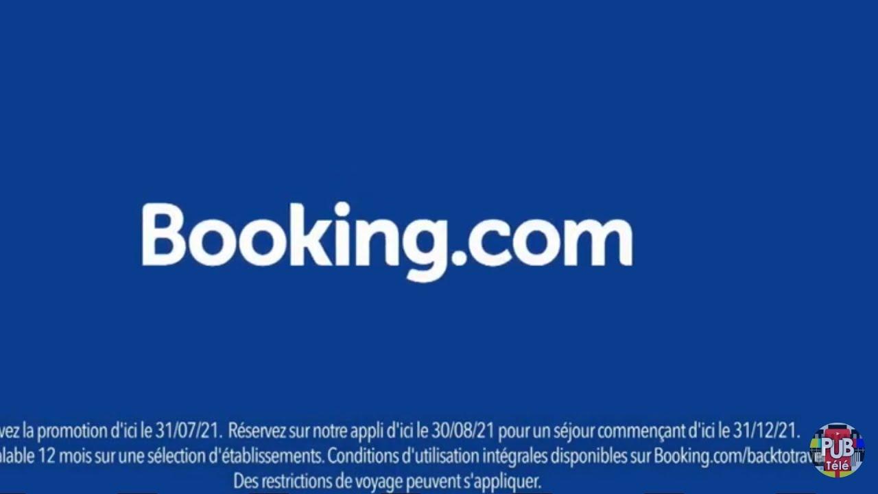 """Musique de la pub Booking.com """"les voyages reprennent""""  Juillet 2021"""