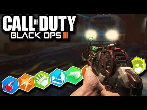 Futuristic BUS DEPOT with EASTER EGG! (Black Ops 3 Zombies)