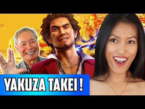 Yakuza: Like a Dragon Trailer Reaction | True Story About How I Know George Takei! |