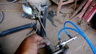 automatic pneumatic clutch for two wheeler mechanical engineering project topics