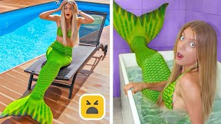 Funny Mermaid Prank! Couple Pranks on Friends & Family by Mr Degree
