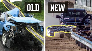 How Road Barriers Stopped Injuring Drivers