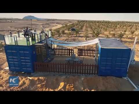 Transforming shipping containers into homes to solve Egypt's housing crisis