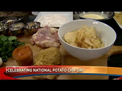 Craig Stevens - Are you ready for national potato Chip day?