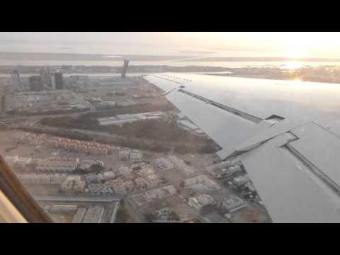 Takeoff from Abu Dhabi Al Bateen in a Rotana Jet E145