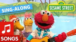 Sesame Street: Elmo's Ducks Lyric Video | Elmo's Sing Along Series