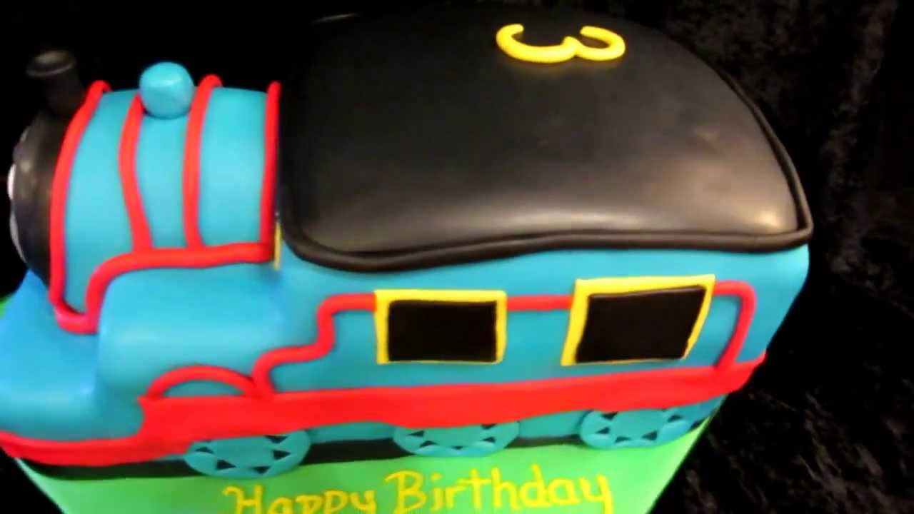 3d Thomas The Train Cake Youtube