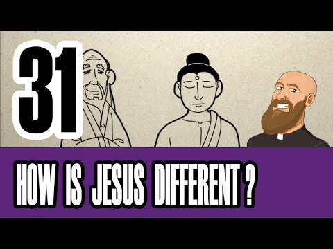 3MC - Episode 31 - How is Jesus different from the founders of other religions?