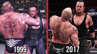 The Evolution Of Undertaker Chokeslam! ( WWF Wrestlemania 2000 To WWE 2K18 )