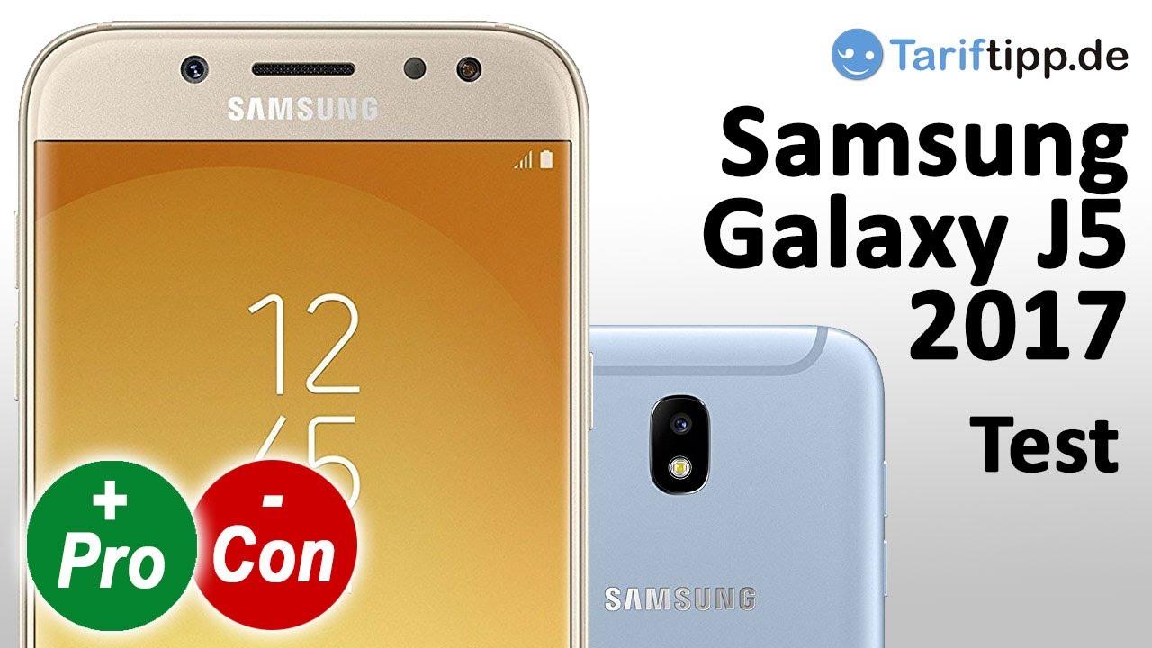 samsung galaxy j5 2017 test deutsch youtube