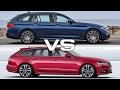2018 BMW 5 Series Touring vs Audi A6 Avant