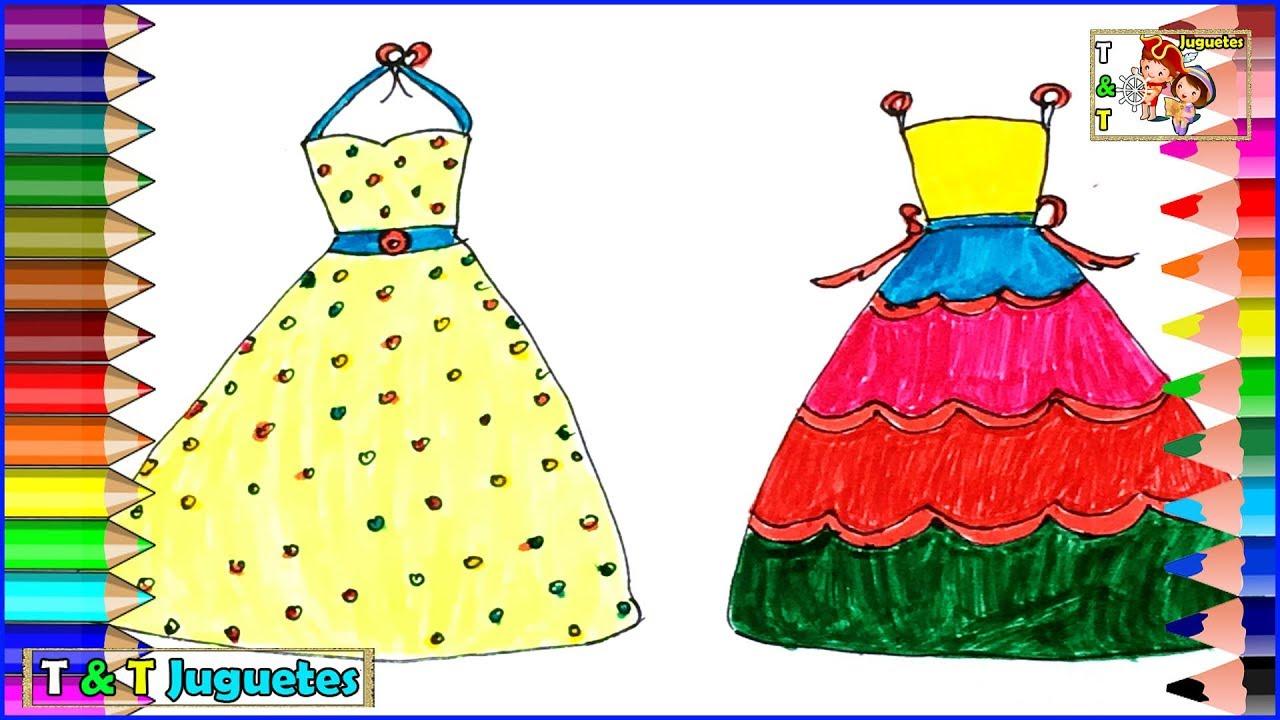 Como Dibujar Y Disenar Vestido Para Muneca Barbie Videos Para