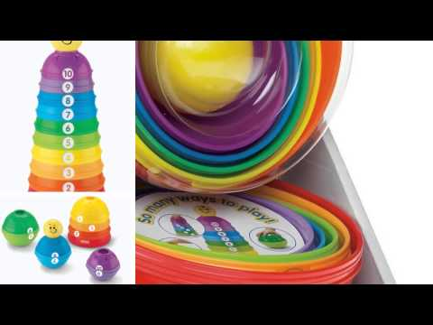 Fisher-Price Brilliant Basics Stack  Roll Cups