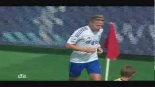 Локомотив - Динамо 2:3 Балаж Джуджак (6-й тур 25.08.2012)