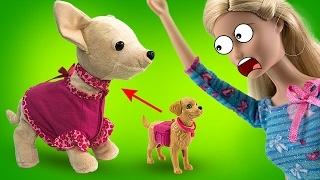 История как Барби и чи чи лав играют онлайн. Давайте смотреть бесплатно мультики Barbie на