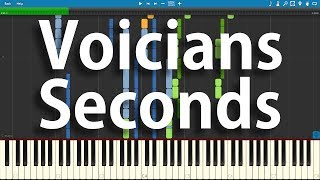 Voicians - Seconds | Synthesia Piano Cover