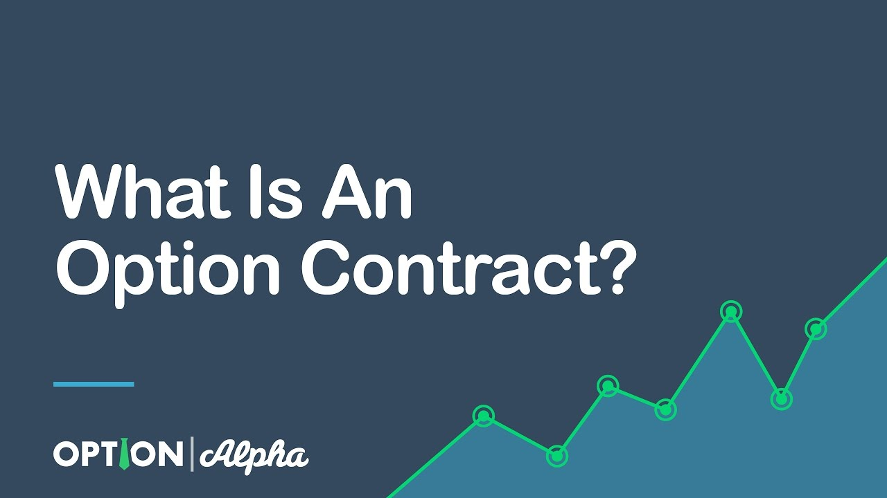 what is an option contract youtube