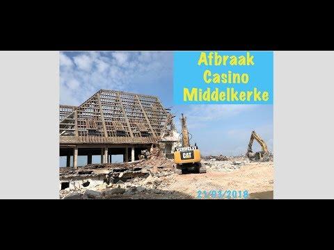 Demolition Casino Middelkerke Afbraak Sloop - tegen de vlakte grond