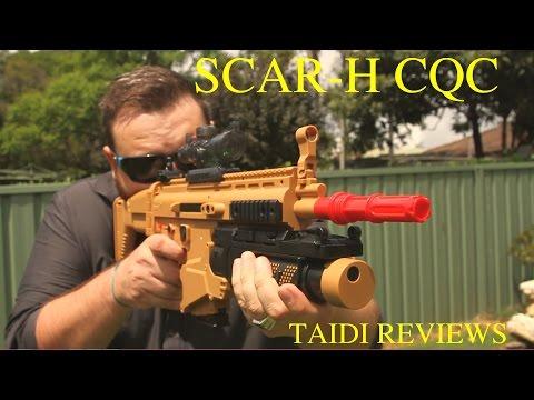 SCAR-H CQC Gel Blaster: Best Starter Blaster
