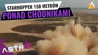 Starhopper wzniósł się na 150m - AstroSzort