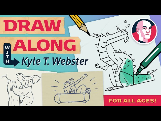 Draw Along with Kyle T. Webster - Dog
