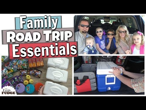 ROAD TRIP ESSENTIALS || Road Trip Survival HACKS for MOMS || Traveling with kids