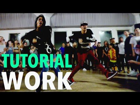 WORK - Rihanna Dance TUTORIAL  MattSteffanina Choreography DanceCoverContest