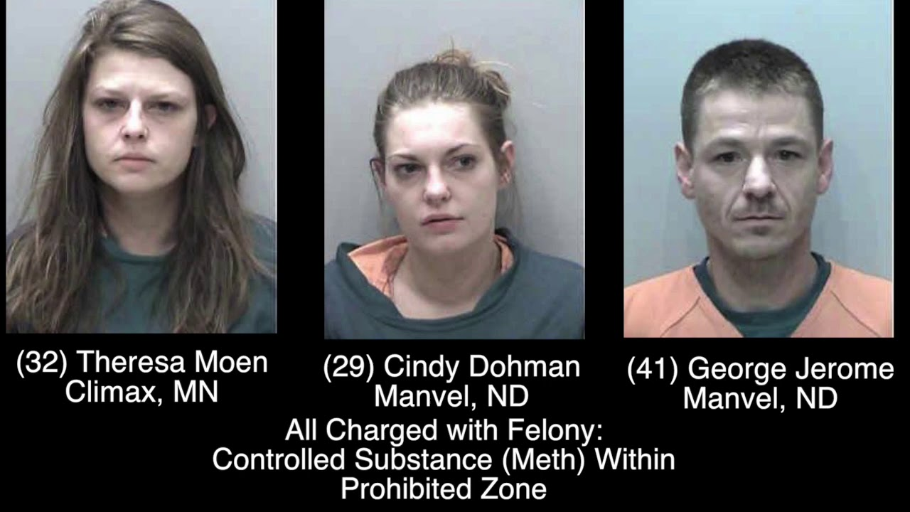 Trio Charged In Polk County Drug Bust