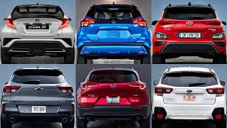 Top 10 Best Subcompact SUVs To Buy Under $25k (2021) hyundai kona, mazda cx 30, honda hrv, seltos!